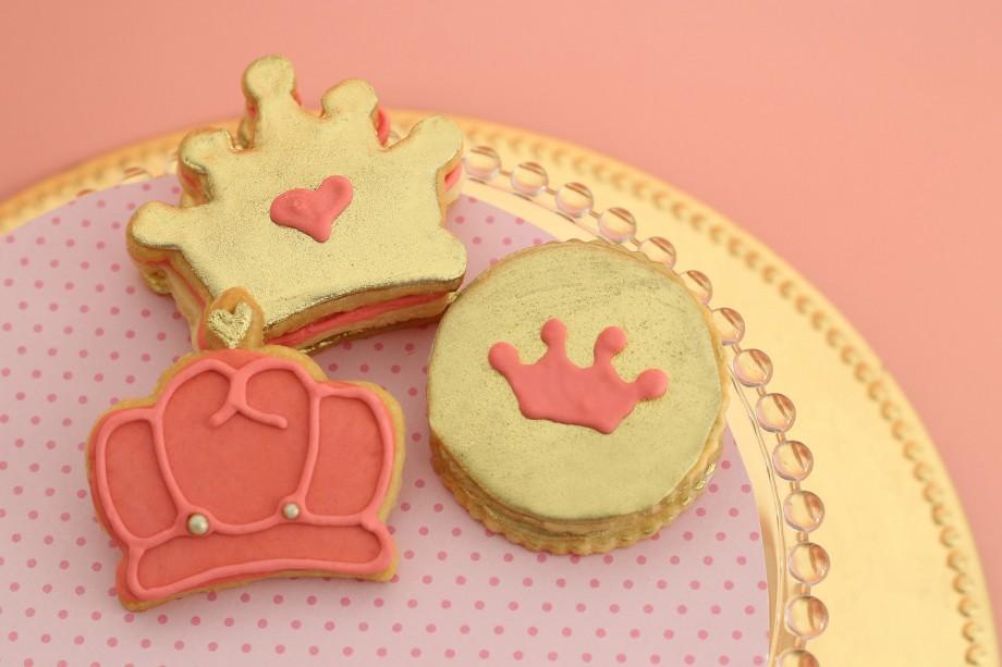 Biscoitos Decorados Coroas Princesas 01-min
