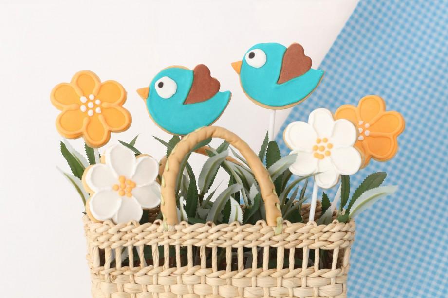 Biscoitos Decorados Passaros e Flores 02-min