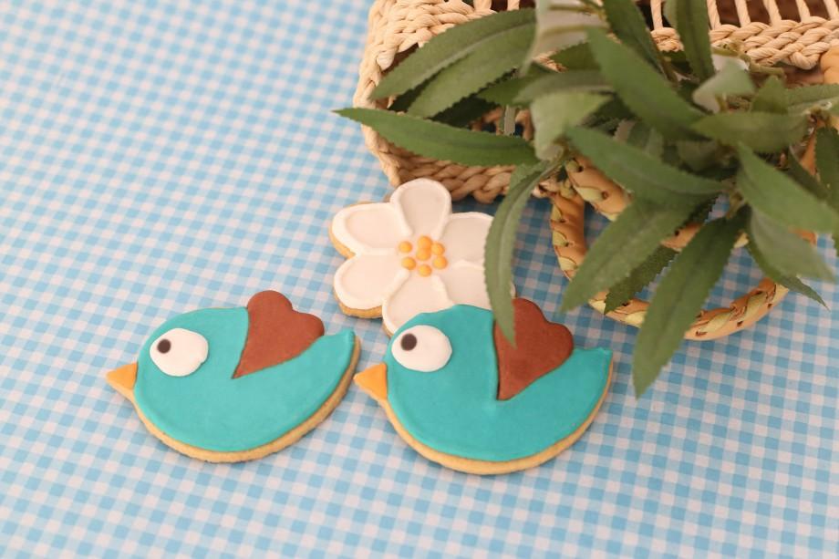 Biscoitos Decorados Passaros e Flores 04-min