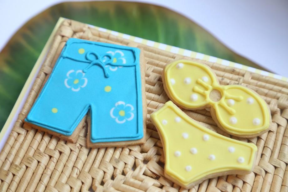 Biscoitos Decorados Praia Shorts Biquini 01-min