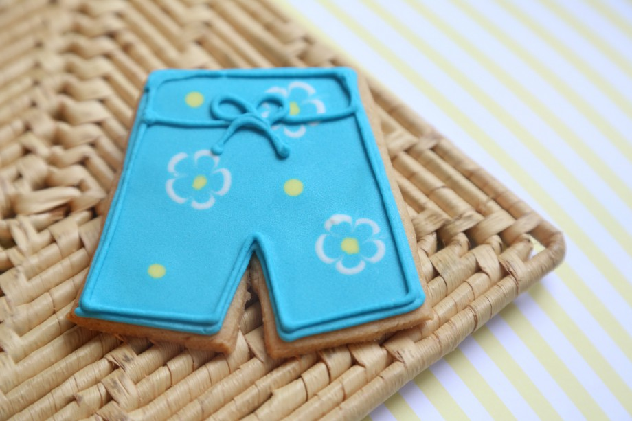 Biscoitos Decorados Praia Shorts Biquini 02-min