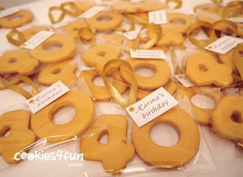 Biscoito para Festa de Aniversário!