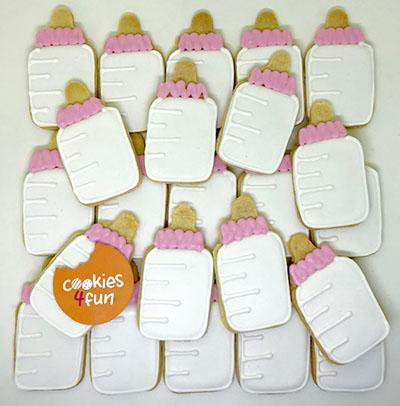 Biscoitos maternidade menina