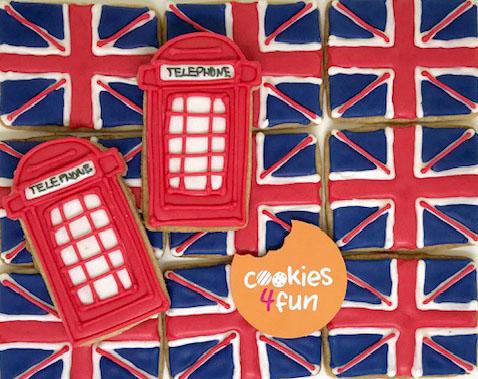 Biscoitos decorados Londres