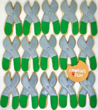 Biscoitos decorados ferramentas