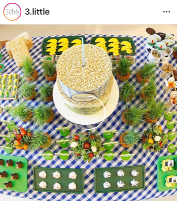 Biscoitos decorados festa fazendinha
